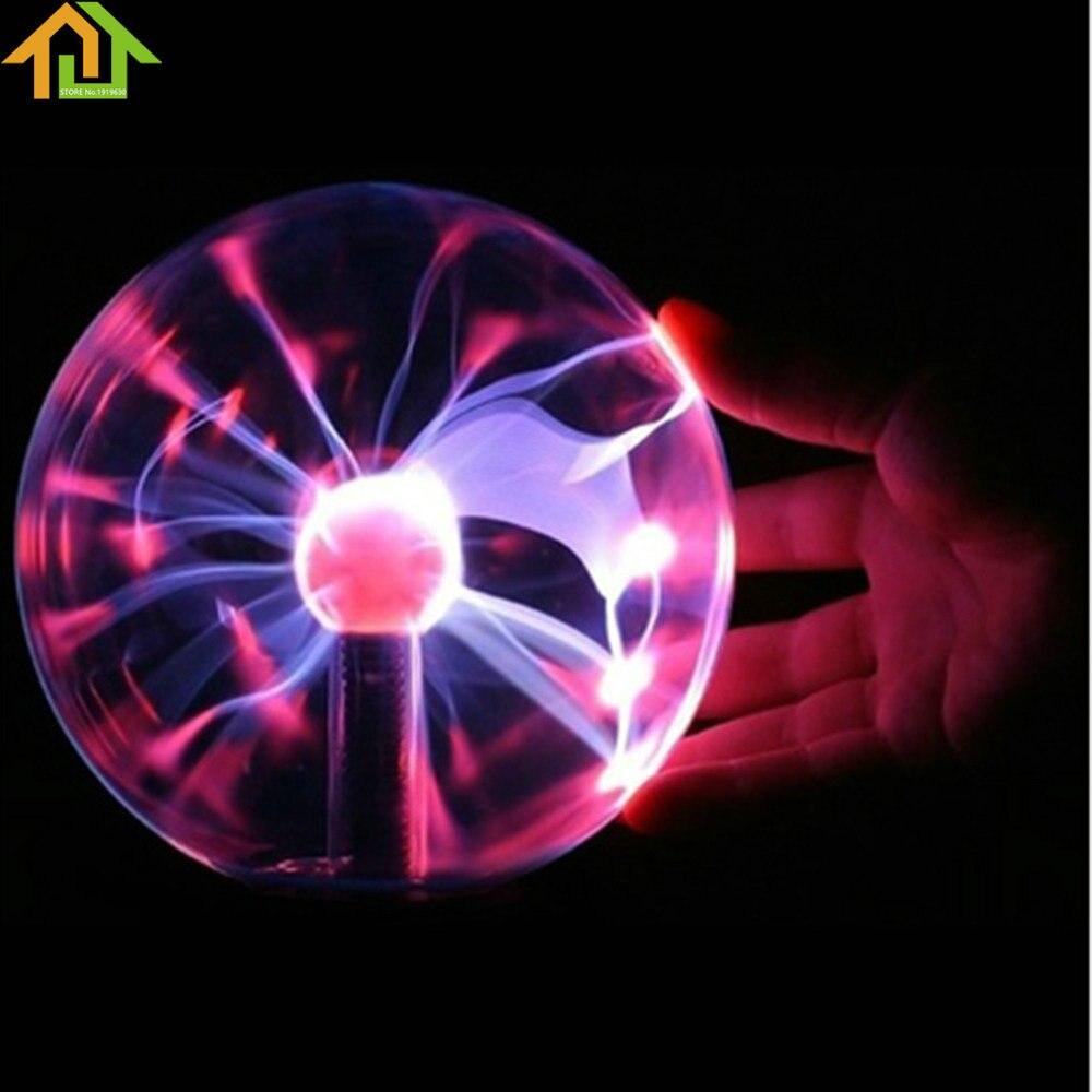 3 USB Plasma Ball Desktop Глобусы ноутбука Молния свет для рождественской вечеринки электростатического сфера свет магический кристалл лампы мяч ...