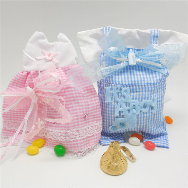 Lovely Candy Bag Birthday Event Party Supplies Decoration Accessories  Clothes Baby Shower Cloth Luxury Favors Gift