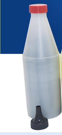 new black ceramic toner powder Vitrotype powder compatible for xerox 6500 color copier 200gram lot top