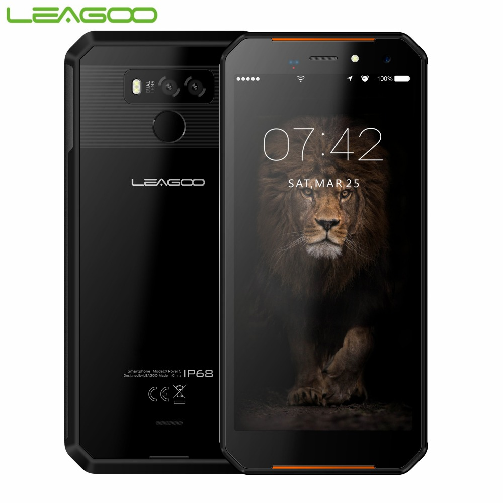LEAGOO XRover C IP68 Waterproof Smartphone 5 72 2GB 16GB MTK6739 Quad Core Mobile Phone 5000mAh