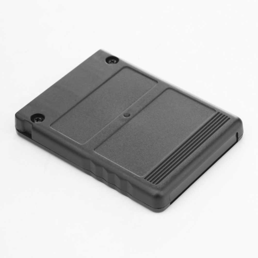 Siyah 64MB 64M hafıza kartı oyunu kaydet tasarrufu veri sopa modülü Sony PS2 PS Playstation 2