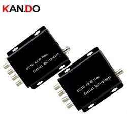 4 Ch ahd CVI TVI камера видео мультиплексор более 1 коаксиальный кабель подключение 4 CCTV 1080P 720P HD камера s ретранслятор камера мультиплексор