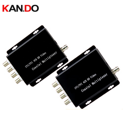 4 Ch ahd CVI TVI Camera Video Multiplexer Over 1 Coaxiale kabel Sluit 4 CCTV 1080 P 720 P HD Camera Repeater Camera Multiplexer