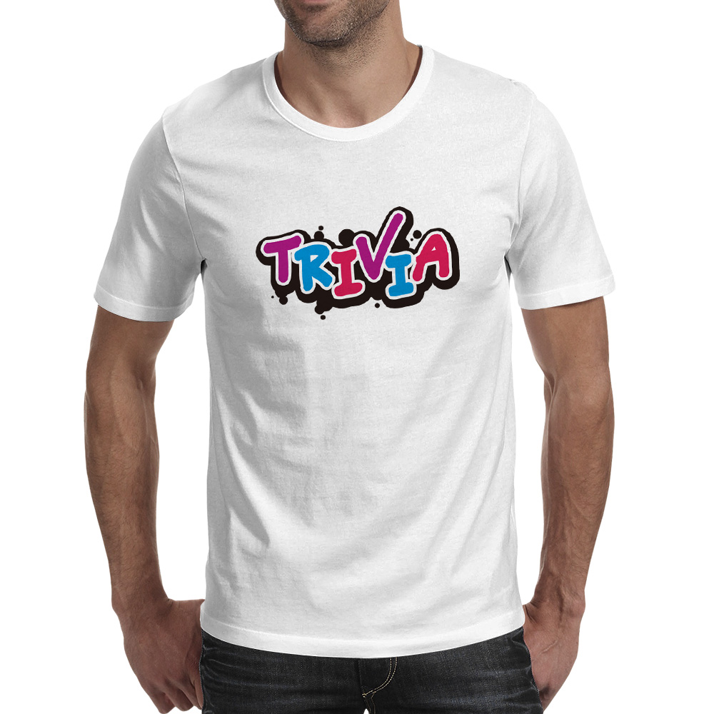 Trivia Elements T shirt Mobile Quiz Game Creative Pop Rock T Shirt Style Design Print Women Men Top in T Shirts from Men 39 s Clothing
