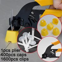 Free Shipping Tile Leveling System Spacer Clip Make Wall Floor Level Construction Tool Include 400caps 1600straps