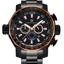 2019 Big Dial Sport Military Watches Men Luxury Brand PAGANI DESIGN Div