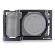 MAGICRIG Камера Кейдж стабилизатор для sony A6000/A6300/A6500/ILCE-6300/ILCE-6500/NEX7 DSLR Крепление-сетка микрофон монитор-501