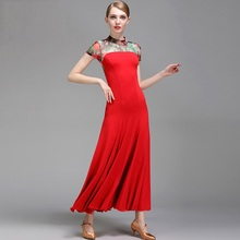 New Professional Latin Dress Ballroom Dancing Dress Newest Design Woman Modern Dance Costume Fashion Modern Dance Clothes B-6070