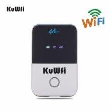 KuWFi 4G Wifi Router Mini LTE Wireless Router Unlocked 3G/4G FDD/TDD Portable Pocket