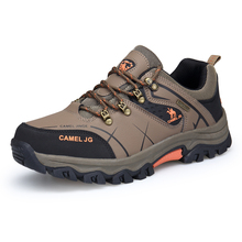 New Arrival Men camel Tennis Trekking Hiking shoes outdoor hunting Breathable Waterproof Antiskid jogging Athletic sport shoes