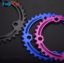 FMF Bike Round Chainring BCD 96mm 32/34/36/38T Chain Ring MTB Mountain Road Aluminum Alloy Chainwheel Colorful Part