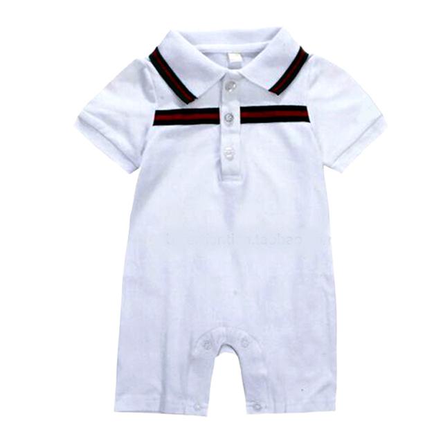 2016 verão moda infantil bebê menino roupas bebê recém-nascido menino Romper definir E dot chapéu infantil roupas de bebê macacões ropa de bebe