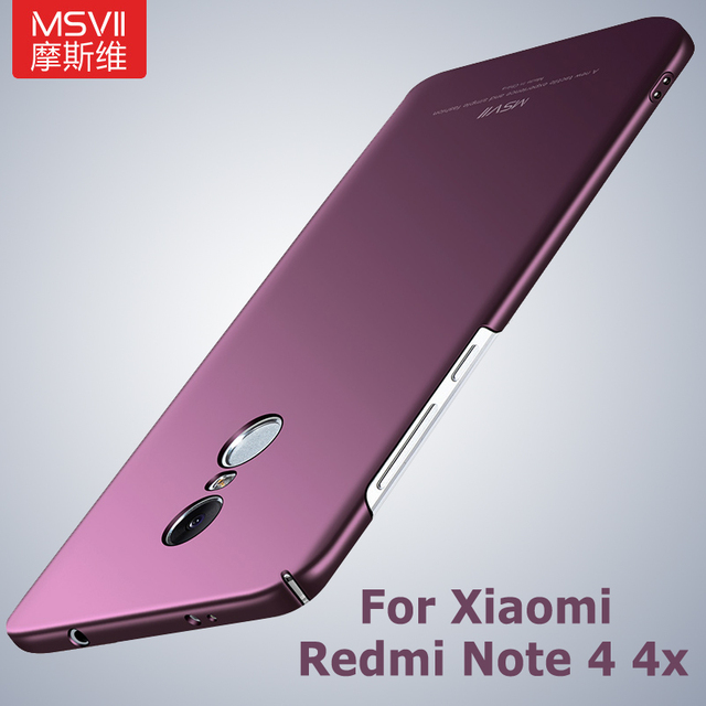 xiaomi redmi note 4x case msvii matte cover for xiaomi redmi note 4