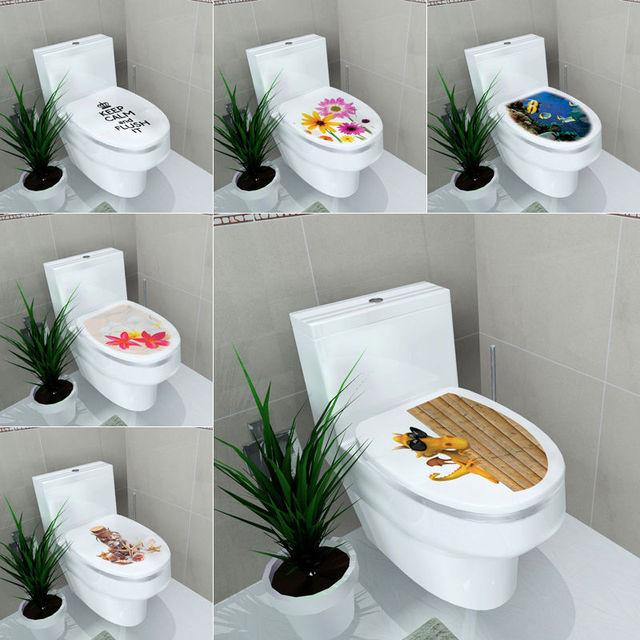 Simple Diy Toilettes Siges Art Stickers Muraux Citer Salle De Bains Dcoration Sticker Murale