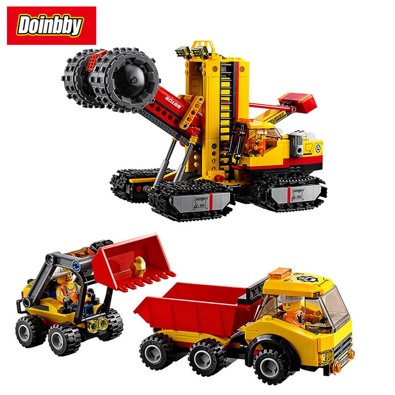 Lepin 02102 City Series Mining Experts Site Crusher Dump Truck Building Block Bricks Toys Kids Gifts Compatible 60188 site forumklassika ru куплю баян юпитер