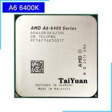 AMD A6-Series A6-6400K A6 6400 A6 6400K 3.9G 65W Dual-Core procesor CPU AD640KOKA23HL/AD640BOKA23HL gniazdo FM2