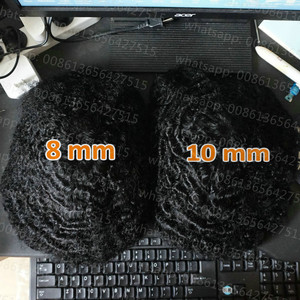 Image 2 - Hstonir Hair Patch For Men Toupee Wig Wave Swiss Lace Topper Indian Remy Hair System 8mm 10mm