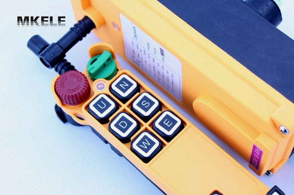 High Quality New Arrivals Crane Industrial Remote Control HS-6S Wireless Transmitter Push Button Switch China hs 10s crane industrial remote control switch hs 10s wireless transmitter switch