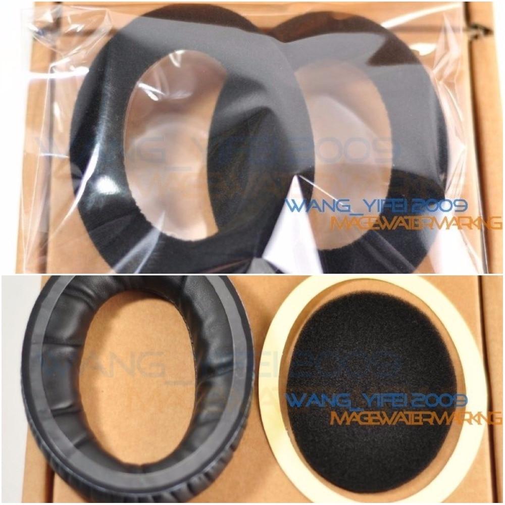 Velour Velvet almohadillas Cojines Orejeras para Sennheiser pc350 pxc350 hd380 pro pc360 hme95 hmec250 pxc450 auriculares