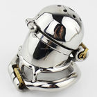 NEW Double Lock Design Stainless Steel Chastity Belt Male Chastity Device Metal Penis Lock Chastity Cage Ring Sex Toys For Men