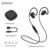 Plextone bx240 sweatproof esporte sem fio bluetooth fone de ouvido fone de ouvido em execução fones de ouvido estéreo com microfone para iphone samsung