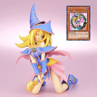 YU GI OH Japanese Anime Dark Magician Girl Doll Sexy Action Figure Girl Ver PVC Figure Lady Toy with Gift Box