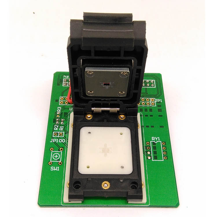 1pcs New GC0307-P Camera Chip Probe Test Stand Letter Interface IC Holder connector 1pcs 100% brand new npce885ea0dx npce885eaodx qfp 128 chip ic chipset graphic chip