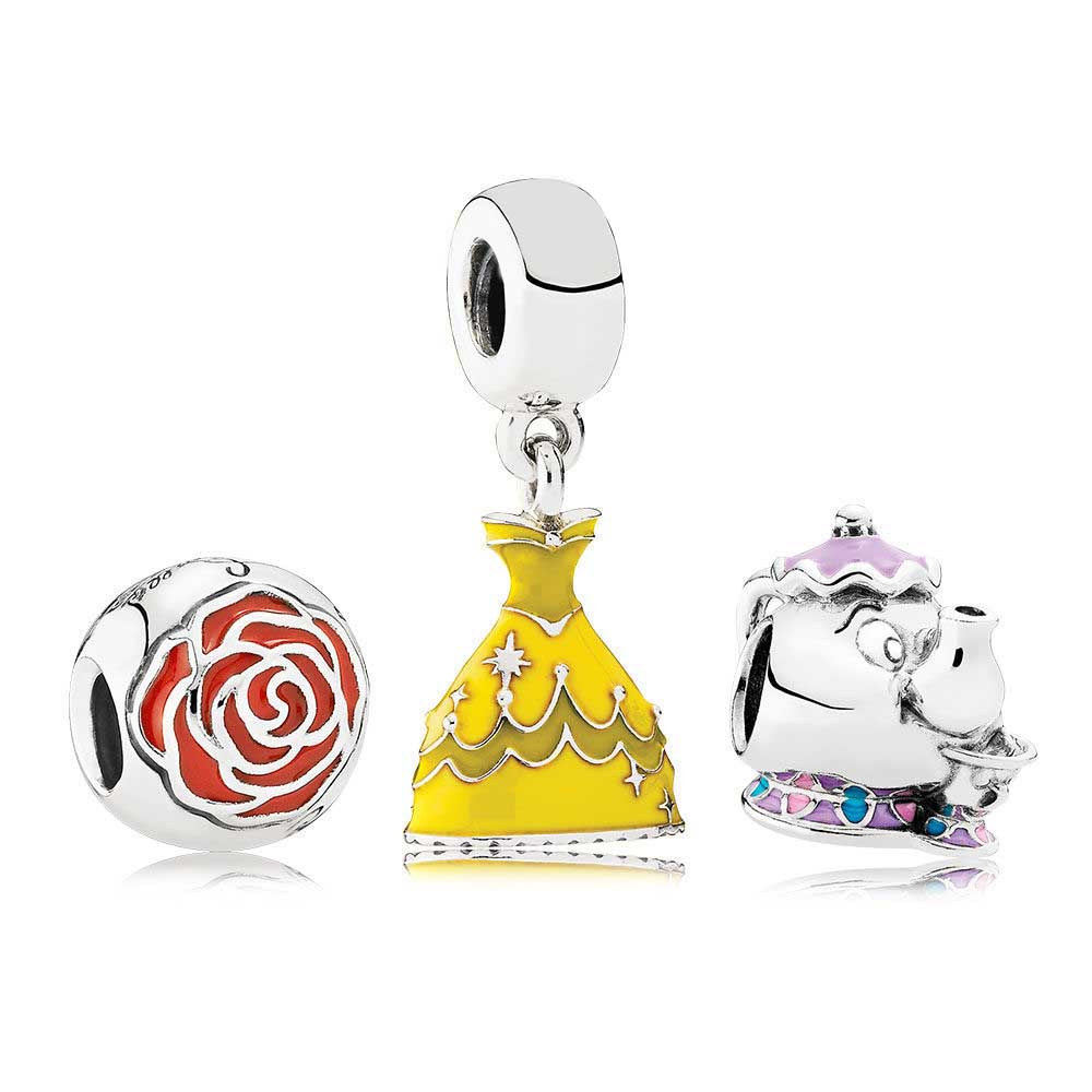 Здесь продается  100% 925 Sterling Silver Beauty And The Bead Gift Set Fit Charms Original Bracelets jewelry A set of prices  Ювелирные изделия и часы