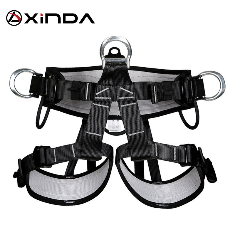 Online Shop Magideal Outdoor Climbing Safety Harness Belt Lanyard