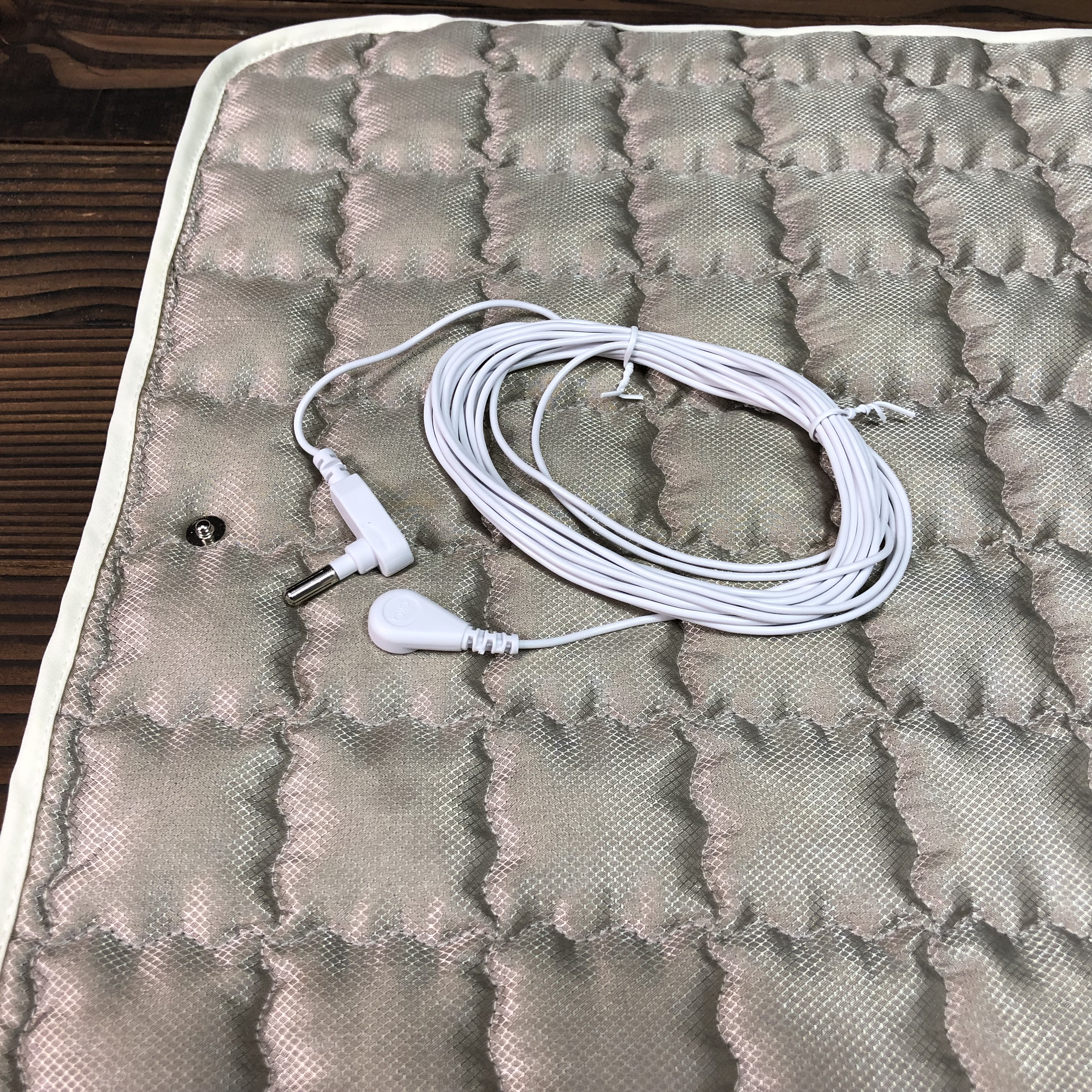 Grounded Plush Silver Sleep Pad Seat Pad Connect To The Earth Remove The Radiation EMF Protection
