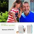 TOP Siemens hearing aids VITA118 type cassette elderly deaf ear hearing aid machine helper Genuine. Hearing Aid for the Elderly