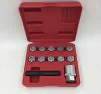 MADE IN TAIWAN 12 PCS Anti Theft Screw Tool Kit Wheel Locking Screw Socket For Mercedes