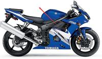 Motorcycle fairing For YAMAHA R6 2003 2006 R6S Receiving board ABS Injection Molding ZXMT