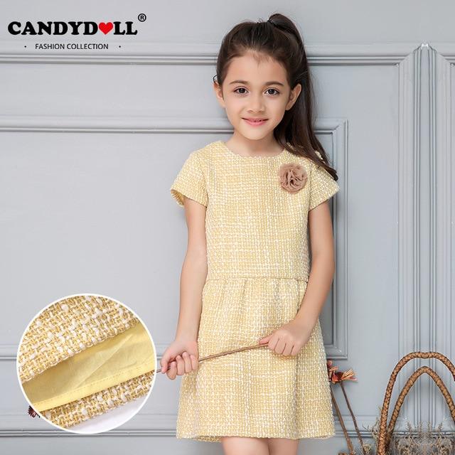 Candydoll New Children Baby Girls Dress Cotton Baby Girls
