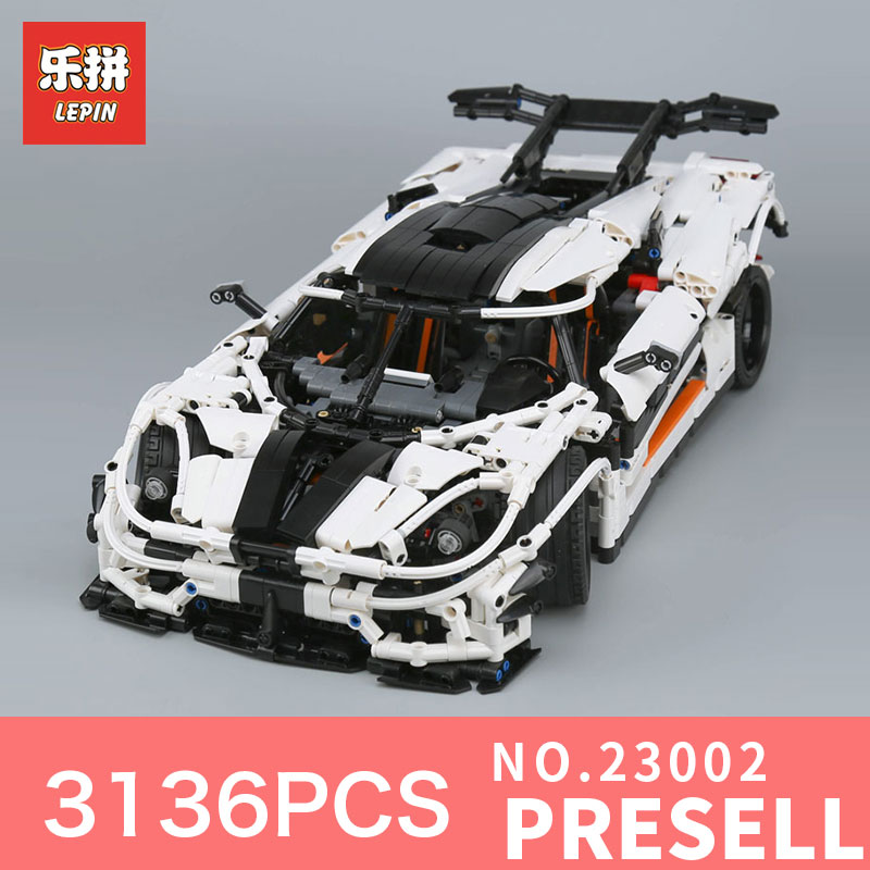 lepin 23002 technic series 3136Pcs car bricks compatible with LegoINGl 42056 educational model building kits toys boys blocks new lepin 23002 3136pcs technic series traffic jam model building blocks bricks classic compatible to boy gift