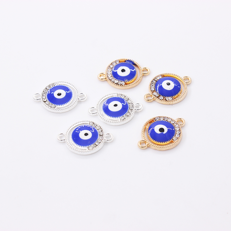 18mm*13mm New Arrival Rhinestone Shaped  Pendant Connectors For Making Jewelry DIY