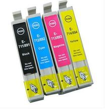 4PK  Ink Cartridge for Epson T0891 T0892 T0893 T0894 Ink Cartridge for Epson S22 21 510 410 100 110 105 200 210 205 405 400 115 цена 2017