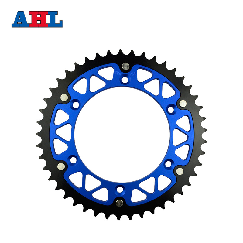 Motorcycle Parts Steel Aluminium Composite 45T Rear Sprocket for YAMAHA WR250F WR 250F WR250 WR 250 F 2001-2014 Fit 520 Chain jt sprockets jtr503 45 45t steel rear sprocket