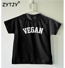 VEGAN logo kids shirt