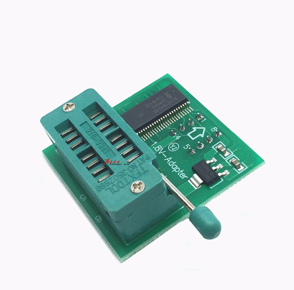 Contemplative 1.8v Conversion Base Spi Flash Dip8 Sop8 Conversion Flat Board Mx25 W25 1.8v Adapter Plate Save 50-70% Active Components