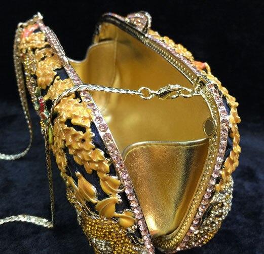 Sac Géométrique Diamant fixe Cristal Femmes Mariage À Main Embrayages Pyrapurse Jaune Vintage Clair Chaude De D'épaule Partie Bracelets HH6pqvx