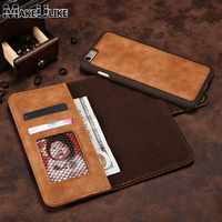 MAKEULIKE Luxury Flip Wallet Detachable Magnetic Back Cover Case For Iphone 6 6S iPhone6S 4.7 inch PU Leather Phone Bags Cases