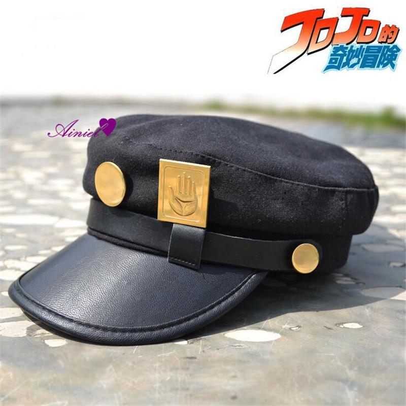 Hot Sales Animation around  JOJO Bizarre Adventure Metal badge Shading  Cosplay Hat Party Cosplay costume CS15848