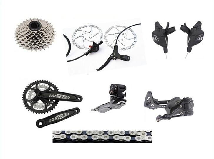 все цены на  ultegra bicycle group set Drivetrain 24 speed  mtb group set Upgrade Mountain Bike GroupSET 8pcs  онлайн