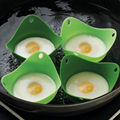 1 pc Egg Poacher Cook Poach Pods Kitchen Cookware Tool Poached Baking Cup