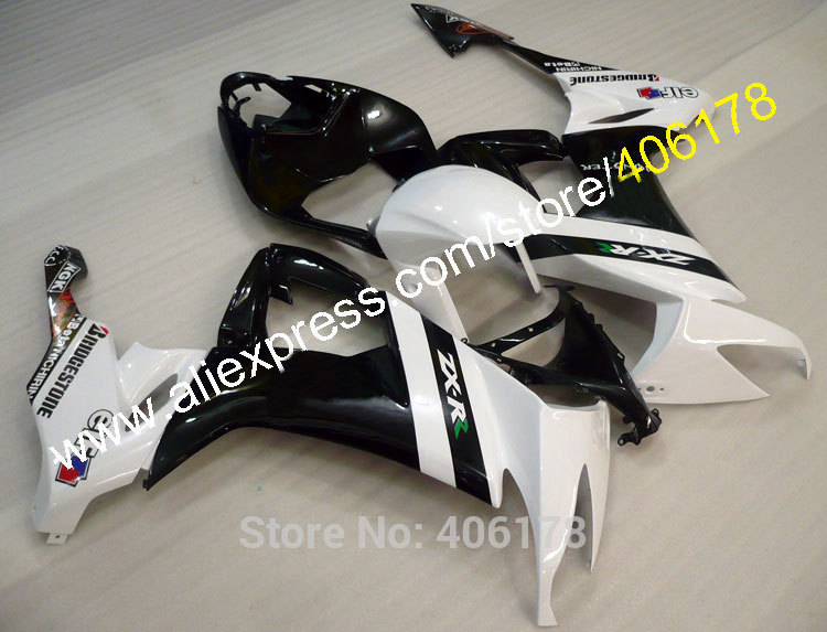 Hot Sales,For Kawasaki zx10r Fairing NINJA 2008-2010 ZX-10R 08 ZX10R 09 ZX 10R 10 Customized Fairing Kits (Injection molding)