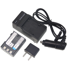 Hot Sale (4pcs/set) 1xNB-2L NB 2L NB2L NB-2LH Camera li-ion Battery+Charger+Car Charger for CANON 350D 400D G7 G9 Z1