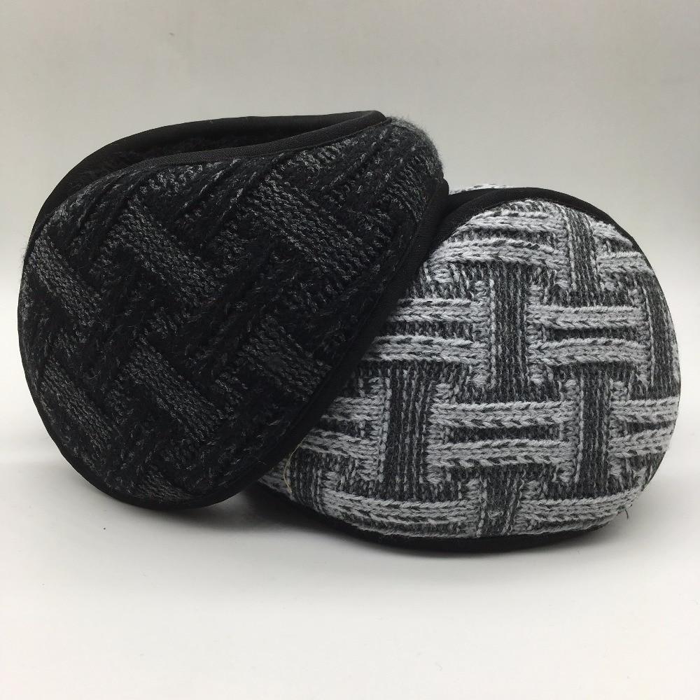 New Style Winter Warmer Earmuffs Men Women Solid Knitted Earmuffs Ear Warmer