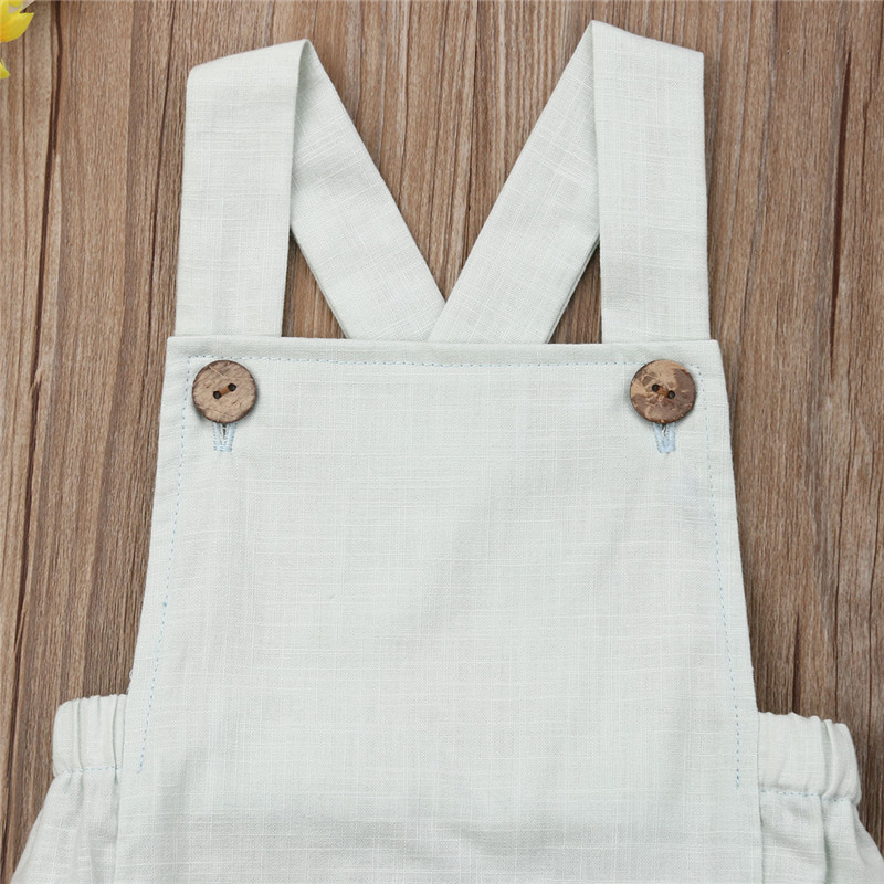 Baby Boys Romper Summer Infant Cotton Newborn Sleeveless Rompers Baby Girl One-pieces Suspender Jumpsuits Cotton Clothes Outfits