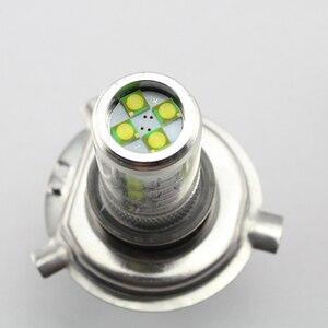 Image 4 - YM E Bright 2 PCS H4 16 SMD 3535 80W Hi/Lo LED Headlights Fog Lamps Auto Bulbs Fog Lights White Car Styling 12V 24V Nonpolarity